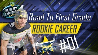 RUGBY LEAGUE LIVE 4: ROOKIE #01 - WHAT A START! :/