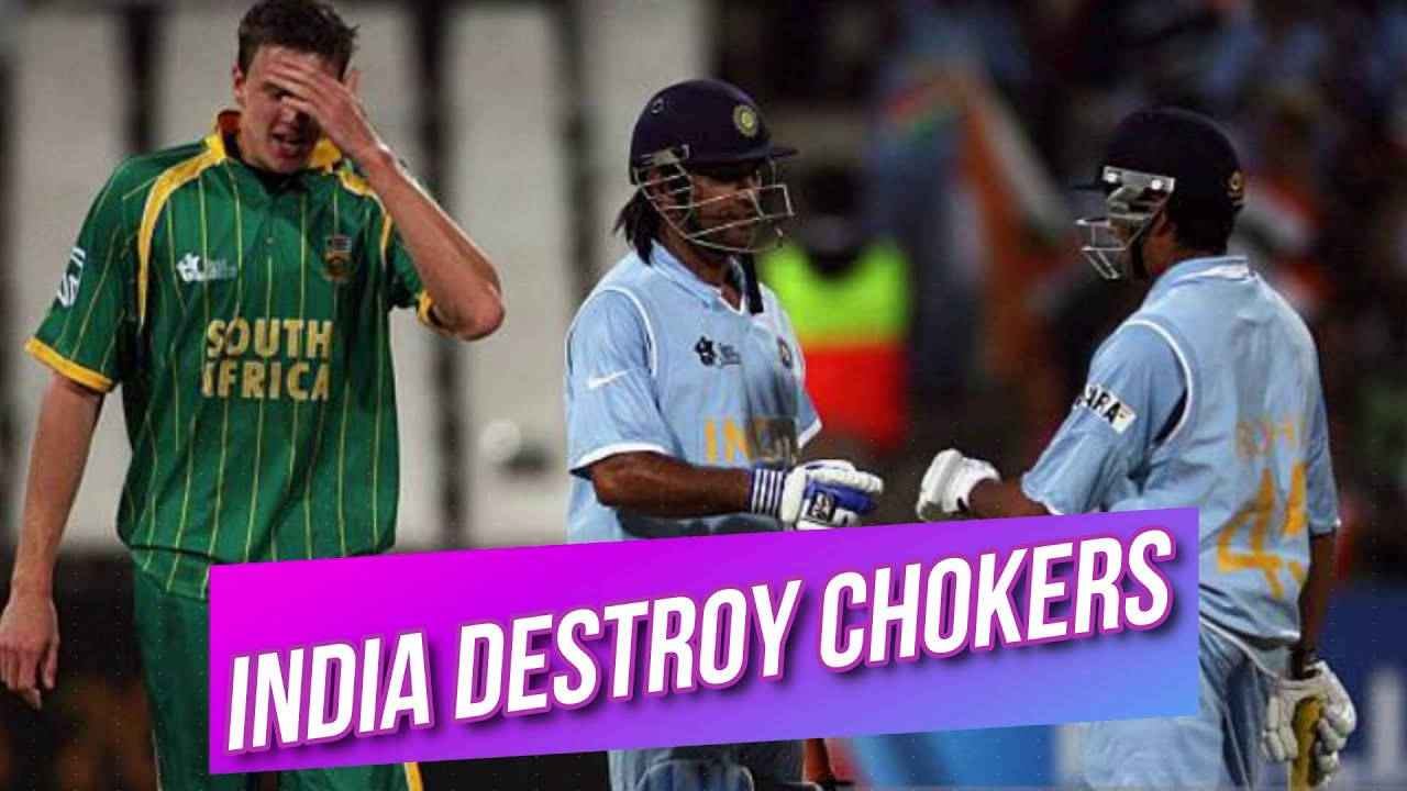 Download India Destroy South Africa and through to The Semi Final of T20 World Cup 2007 Highlights