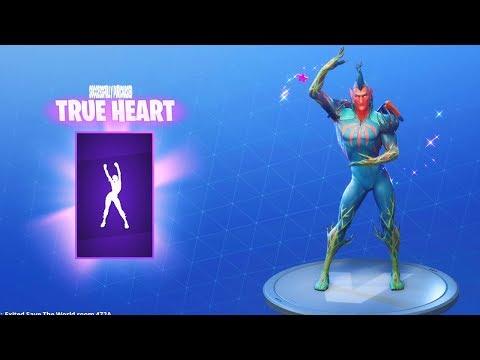 *NEW* TRUE HEART DANCE EMOTE (Fortnite Item Shop Update July 6)