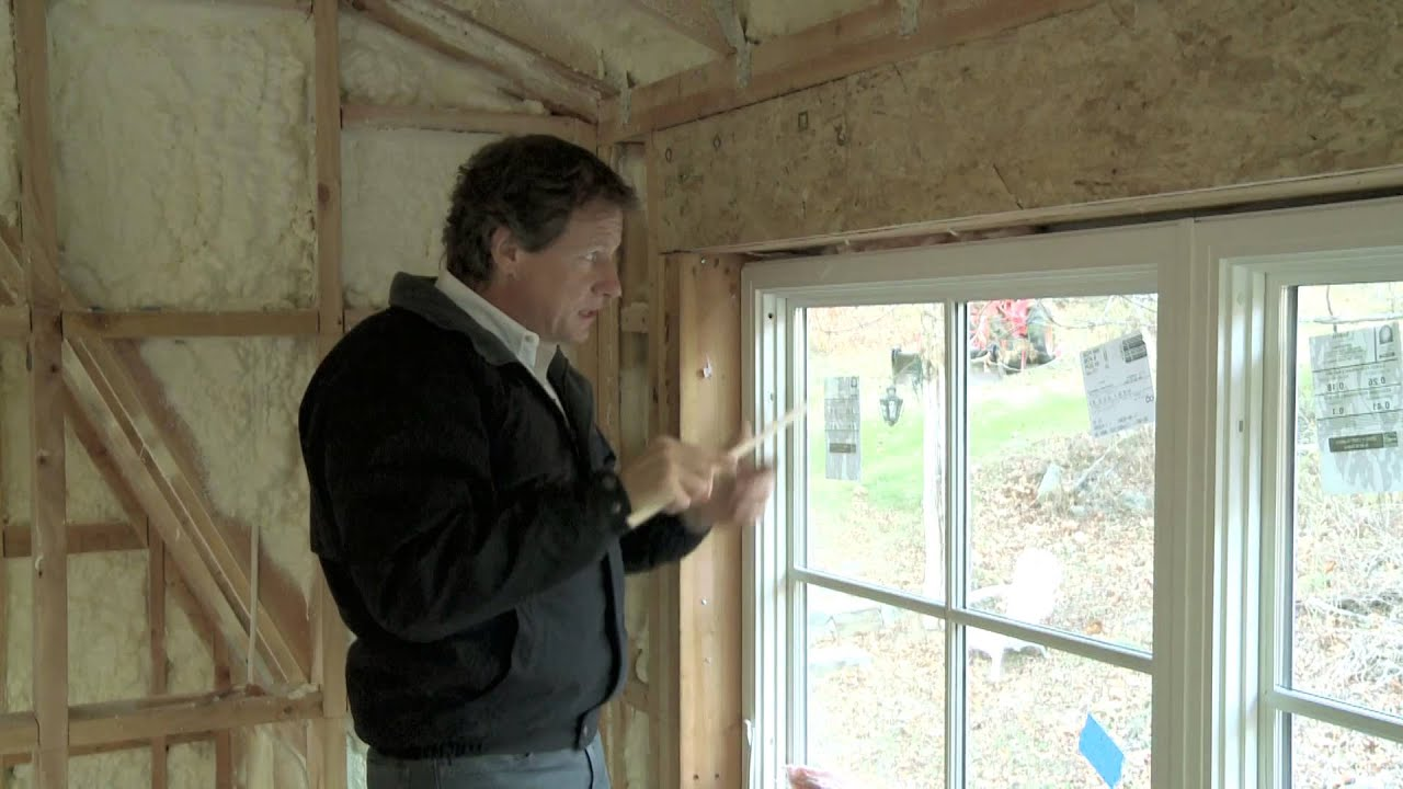 Sealing Doors and Windows To Stop Drafts - YouTube