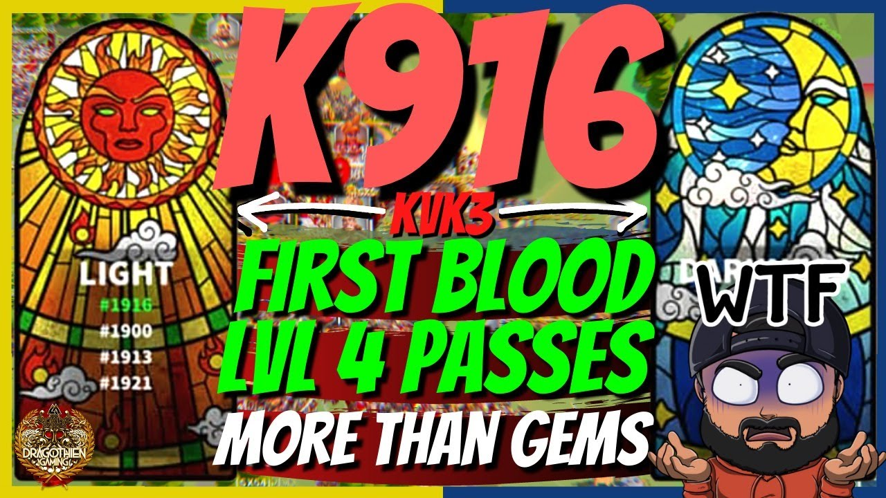 Download K1916 FIRST BLOOD? Level 5 passes opening! More than gems!