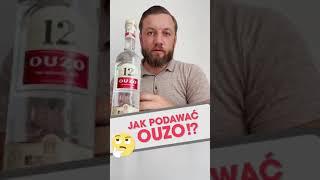 Jak podawać OUZO? #ouzo #short #shorts #alkohol