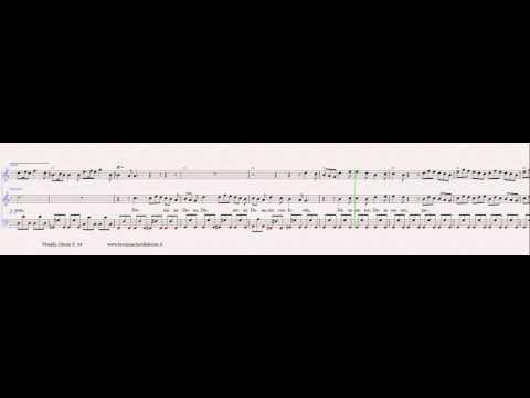 karaoke   Domine Deus Rex Coelestis   Gloria   Vivaldi