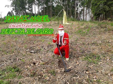 Papai Noel Encontrou Uma PEPITA DE OURO!!!