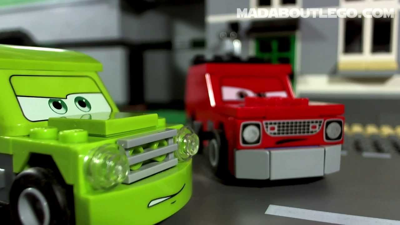 Lego Disney Cars London Race Youtube