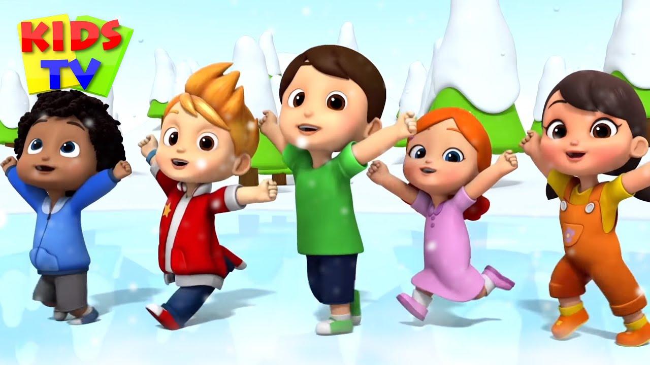 Five Little Boom Buddies | Kindergarten Songs & Nursery Rhymes for Toddlers | Kids Cartoon
