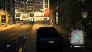 Watch Dogs - Backstreet Driver: Stealth Driving Tutorial: Park & Hide In Car, Use Alleys, Garages