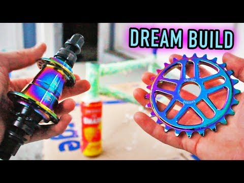 Building my DREAM BMX Bike...