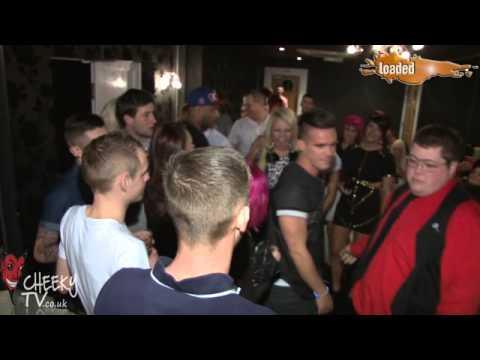Geordie Shore's Gaz at Loaded 09.02.13