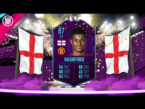 HOW GOOD IS 87 POTM RASHFORD!?!? - FIFA 19 Ultimate Team thumbnail