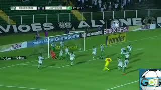Gols Figueirense 2 x 1 Juventude Brasileirão Série B