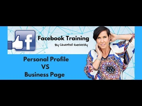 Facebook Personal Profile vs Business Page
