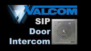 Valcom  SIP-compatible Door Intercom VIP-176