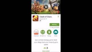 APLIKASI NO 1 DI GOOGLE PLAYSTORE (Clash Of Clans)