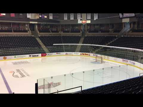 Rj Energy Solutions and Skyskopes Building Study - Scheels Arena Ice
