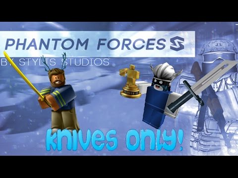 Roblox-Phantom Forces- Weekly Challenges(Knives only) W/Harlem
