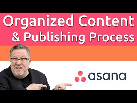 Asana for Content Publishing
