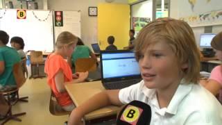 Leerlingen bepalen zelf wat ze doen op Basisschool De Wilgenhoek in Hank