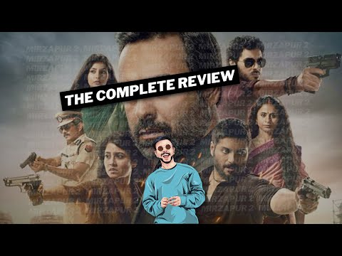 The Complete MIRZAPUR 2 Review 🔥 | Mirzapur Season 2 Web Series Review | Vedant Rusty