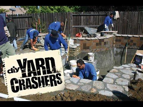 Premier Pools & Spas On DIY's Yard Crashers