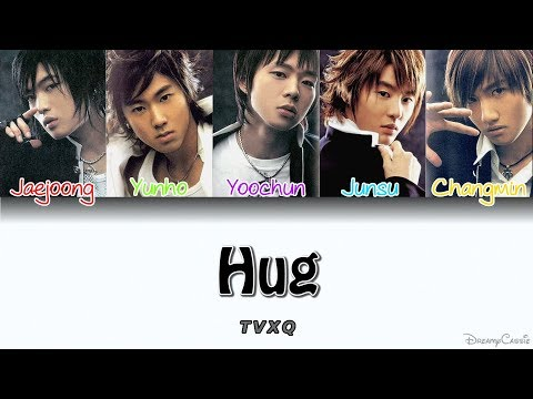 TVXQ 동방신기  Hug Colour Coded Lyrics HanRomEng