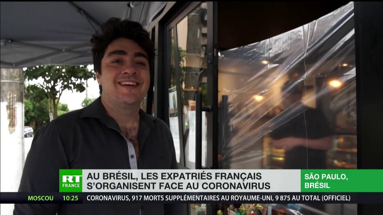 Au Brésil, les expatriés français s'organisent face au coronavirus
