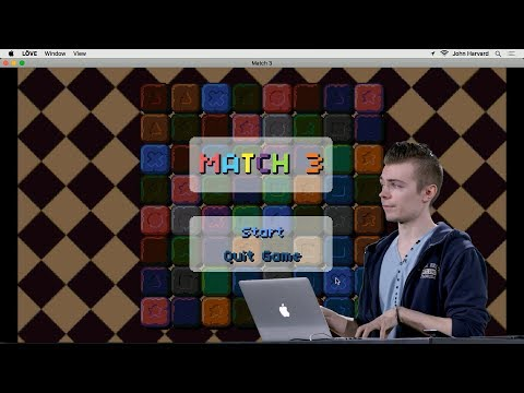 Match 3 - Lecture 3 - CS50's Introduction To Game Development 2018