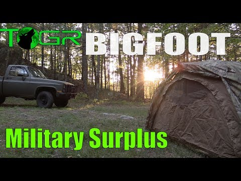 Was That Bigfoot? - Backroads - Military Surplus (CUCV) Overnight Adventure