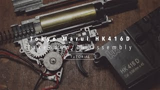 [TUTORIAL] Tokyo Marui HK416D Takedown/Disassembly: Accessing The Gearbox