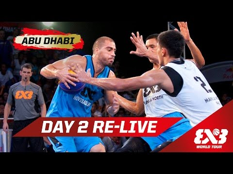 Day 2 + Dunk Contest w/ 'Lipek' & Kilganon - Re-Live - Abu Dhabi - 2015 FIBA 3x3 World Tour Final