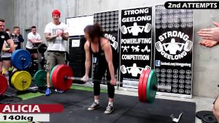 SG Powerlifting Comp - Female Deadlifts (July 2015)