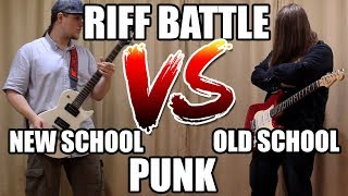 Old Punk VS New Punk (Guitar Riff Battle)