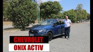 Chevrolet Onix Activ 1.4 automático - Teste do Emilio Camanzi