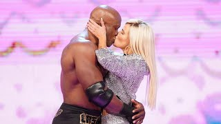 Bobby Lashley Makes Out With Lana On WWE RAW