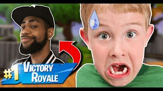 Daequan joins & KID LOSES HIS MIND (Fortnite - Battle Royale)