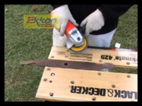 EKKON EXPERTOS -  AMOLADORA ANGULAR 800W KG720 BLACK AND DECKER Videos De Viajes