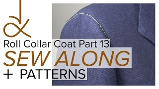 Sewing a Coat, A Sew Along. Part 13, Sewing Set In Sleeves