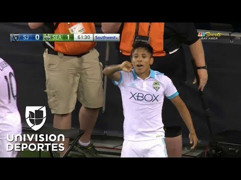 GOLAZO Raúl Ruidíaz primer gol con Seattle Sounders en la MLS