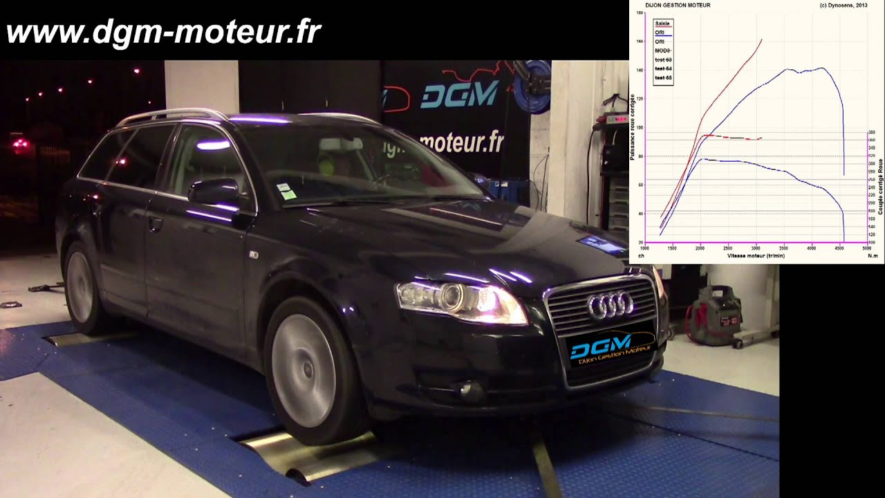 reprogrammation audi a4 2 0l tdi 170ch dijon gestion moteur youtube. Black Bedroom Furniture Sets. Home Design Ideas