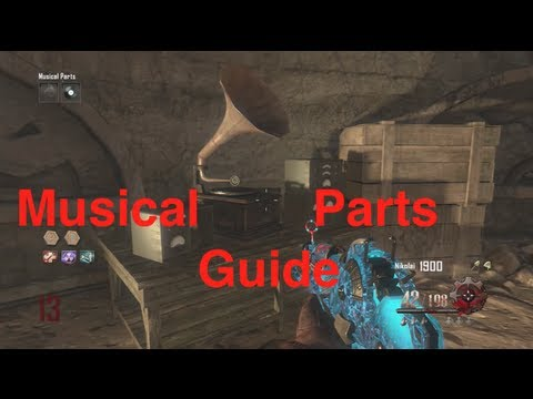 Origins musical parts guide black ops 2 zombies youtube - Black ops 2 origins walkthrough ...