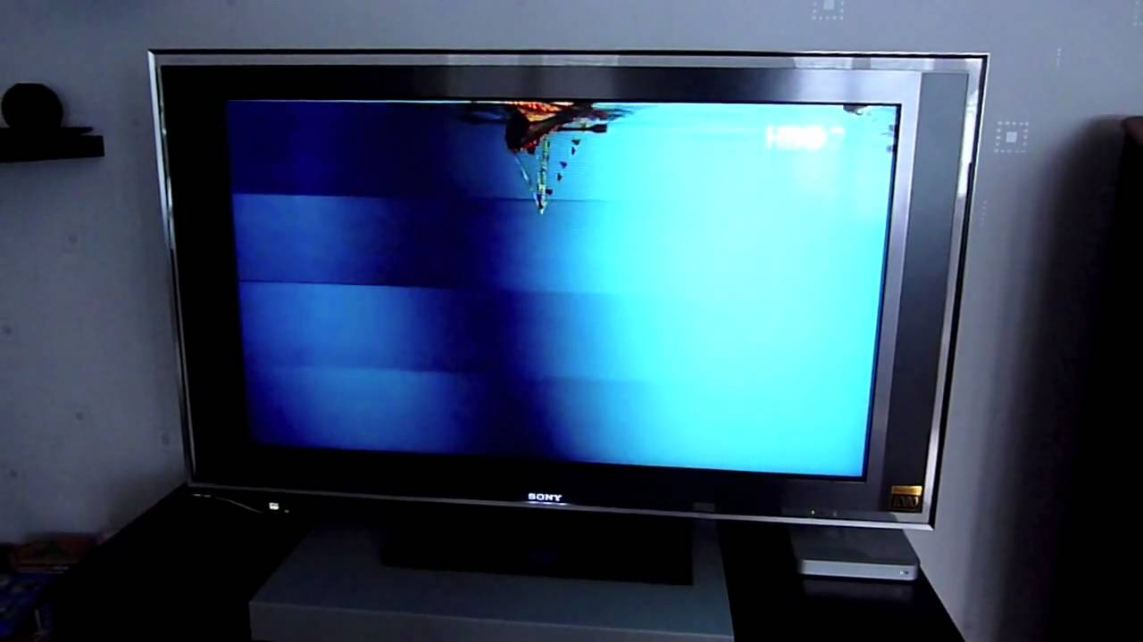 Panel Tv Sony Kdl46x3500 (46xbr4) - Youtube