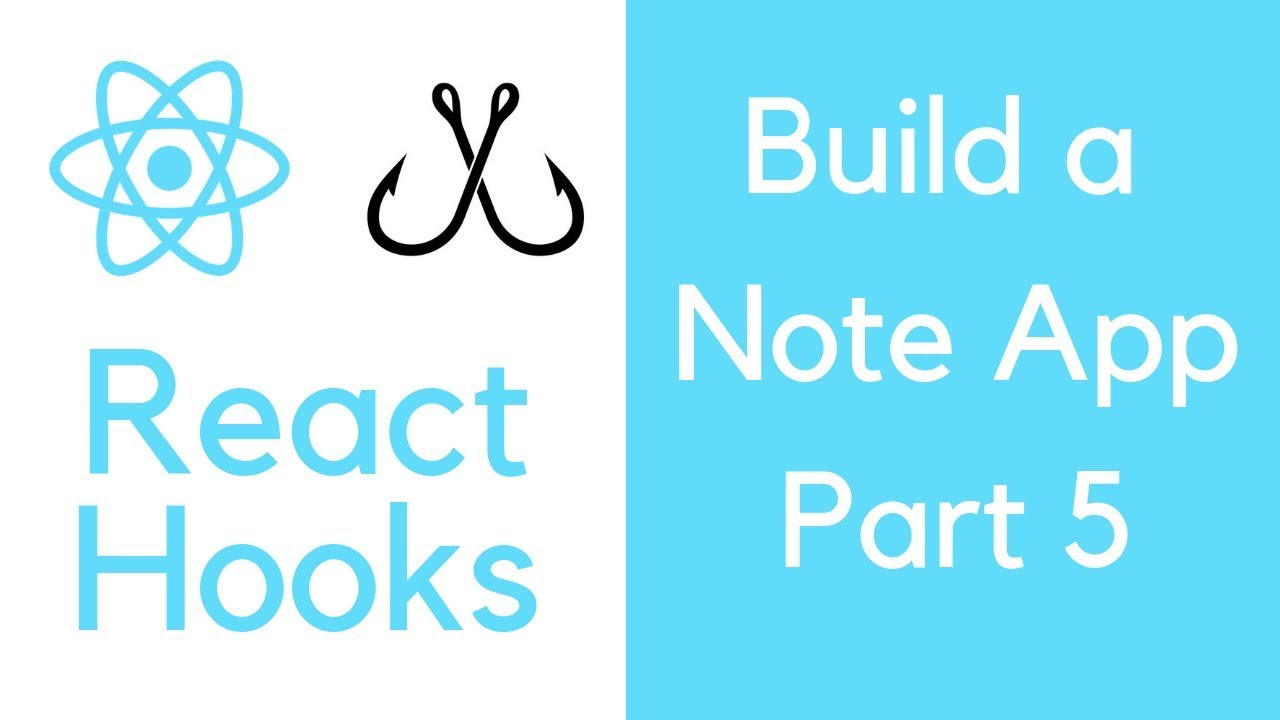 React Hooks tutorial Part 5 - Build a Note app with useReducer and useContext