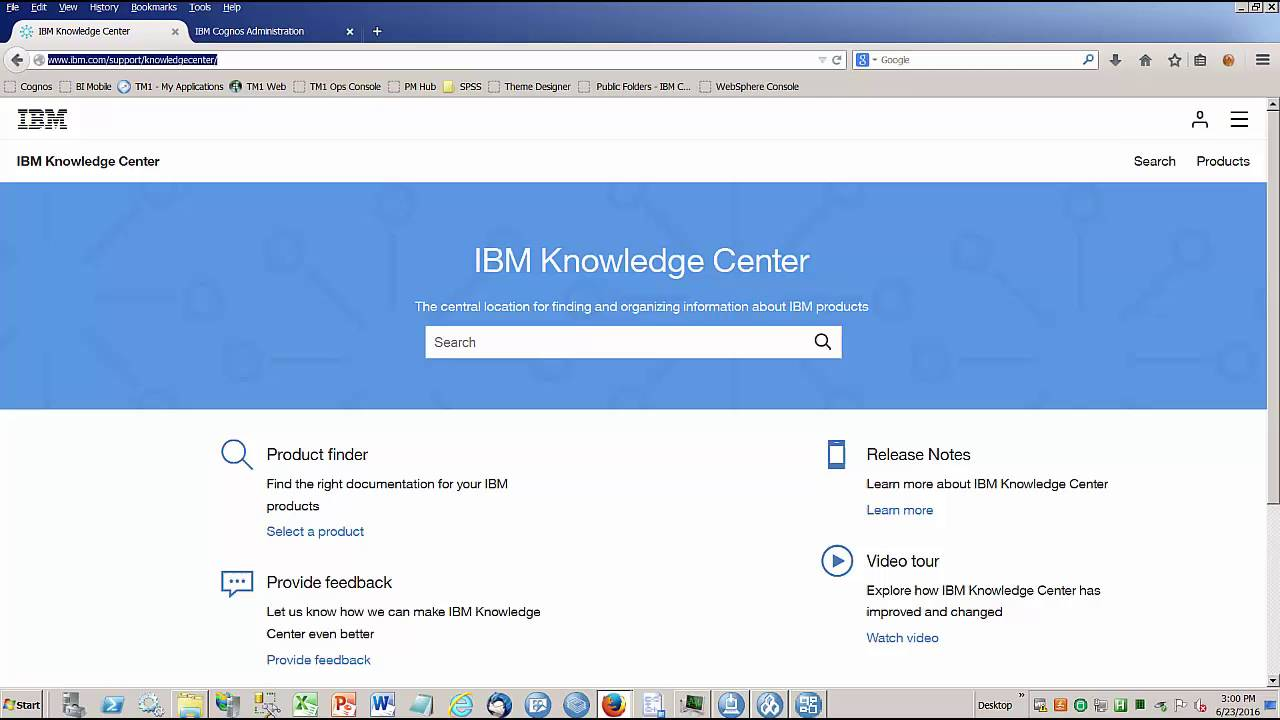 IBM Analytics - Cognos Analytics - DQM