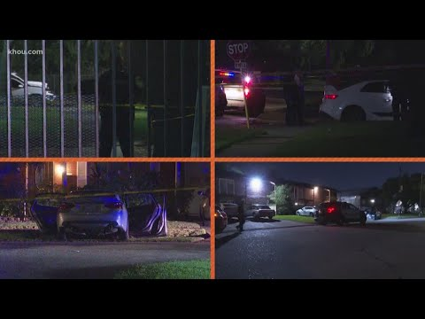 A violent night across Houston with multiple shootings and a stabbing; 3 deaths