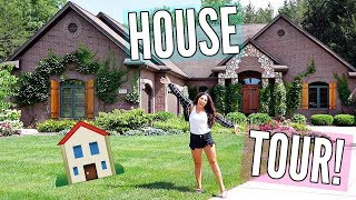 HOUSE TOUR! THE HOUSE I GREW UP IN!