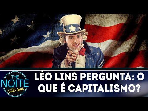 Léo Lins pergunta: o que é capitalismo? | The Noite (22/03/18)