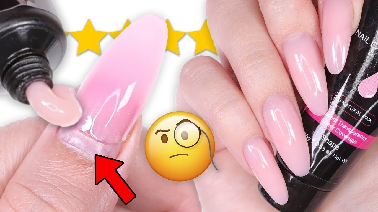 Diy Testing Filling Polygel Nails Youtube