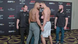 UFC Rochester: Weigh-In Faceoffs