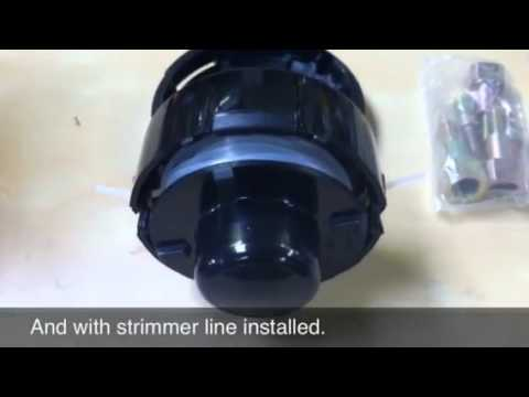 Bump feed strimmer head for sale at SGM - ViYoutube