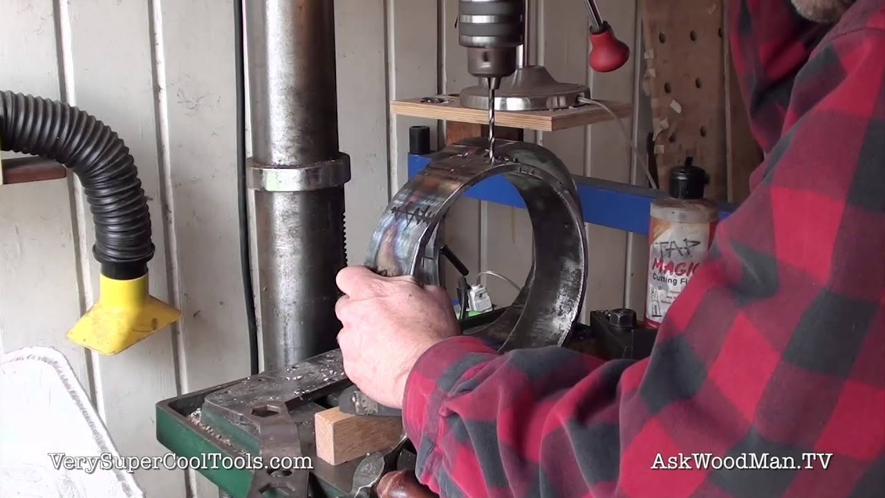 898 Diy Welding Cart Making The Gas Bottle Holders Youtube